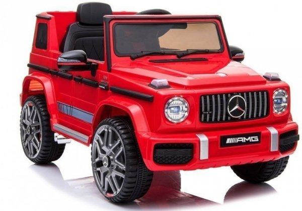 Auto na Akumulator Mercedes G63 AMG Czerwony