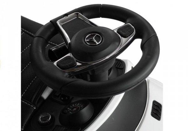 Jeździk pchacz  Mercedes GLE 63 z Daszkiem Biały
