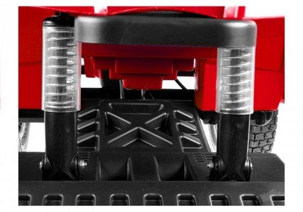 Quad na Akumulator BDM0906 Pompowane Koła Czerwony