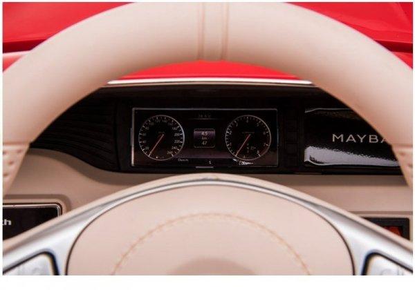 Auto na Akumulator Mercedes Maybach Czerwony