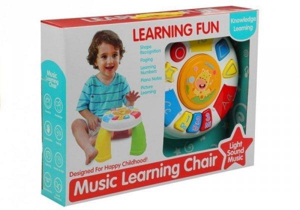 Stolik Edukacyjny Muzyczny Gra Świeci Dla Malucha