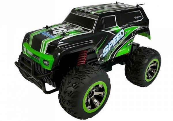 Terenowy Jeep Auto zdalnie sterowane 1:18 R/C Zielone