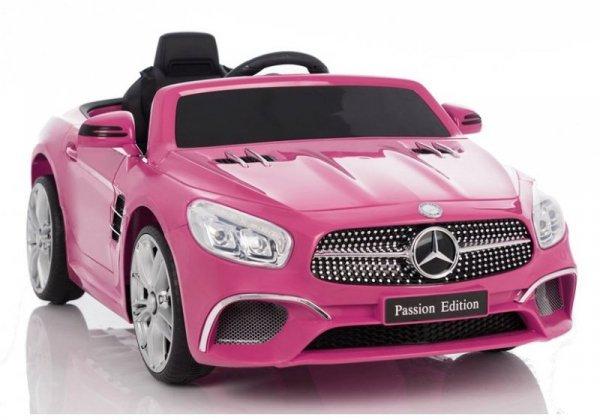 Auto na Akumulator Mercedes SL Różowy 8811