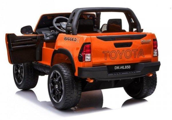 Auto na Akumulator Toyota Hilux  Pomarańczowy Lakierowany