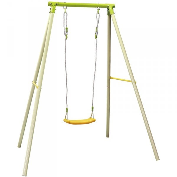 Huśtawka ogrodowa 1 osobowa plac zabaw dla dzieci