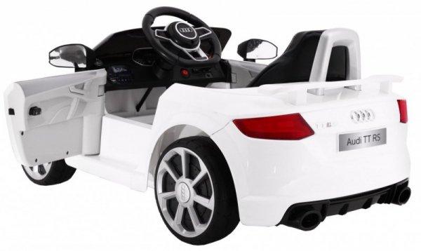 Auto na akumulator AUDI Quattro TT RS EVA 2.4G Biały
