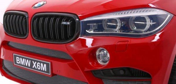 Auto na akumulator BMW X6M 2 os. XXL Lakierowany Czerwony