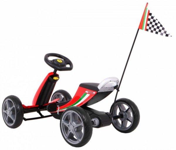Gokart Ferrari Czerwony