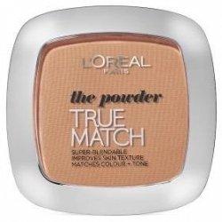 L'OREAL True Match Powder kosmetyki damskie - puder dopasowujący się do twarzy W5