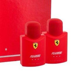 ZESTAW FERRARI Scuderia Red woda toaletowa dla mężczyzn 75ml + płyn po goleniu 75ml