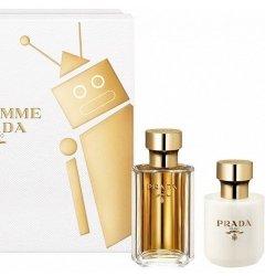 ZESTAW PRADA La Femme woda perfumowana dla kobiet 50ml + mleczko do ciała 100ml
