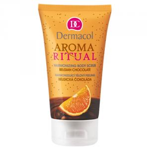 DERMACOL Aroma Ritual Harmonizing Belgian Chocol peeling do ciała dla kobiet 150ml