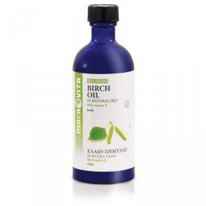 MACROVITA OLEJEK BRZOZOWY w naturalnych olejach tłoczony na zimno z witaminą E 100ml