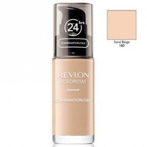 REVLON Colorstay Makeup Combination Oily Skin podkład do twarzy do skóry tłustej i mieszanej 30ml (180 Sand Beige)