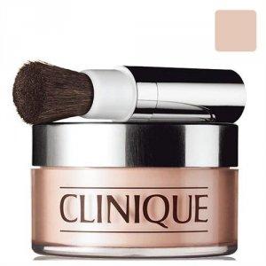 CLINIQUE Face Powder And Brush Blended puder sypki dla kobiet 35g (02 Transparency)