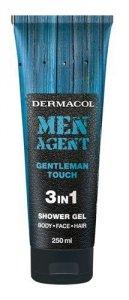 DERMACOL Men Agent Gentleman Touch 3in1 żel pod prysznic dla mężczyzn 250ml