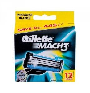 GILLETTE Mach3 wkład do maszynki dla mężczyzn 12 szt.