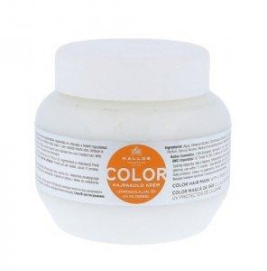 KALLOS COSMETICS Color maska do włosów farbowanych dla kobiet 275ml