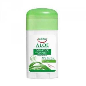 EQUILIBRA Aloe Protezione Naturale Gentle Deo-Stick aleosowy dezodorant w sztyfcie Aloe Vera 50ml