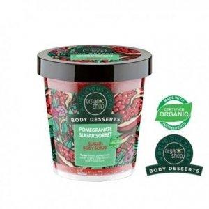 ORGANIC SHOP Body Desserts Pomegranate Sugar Sorbet Body Scrub cukrowy peeling do ciała o zapachu granatu 450ml