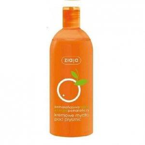 ZIAJA Pomarańcza kremowe mydło pod prysznic 500ml
