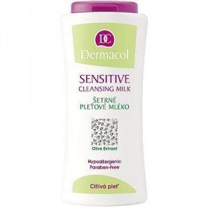 DERMACOL Sensitive Cleansing Milk oczyszczające mleczko do twarzy dla kobiet 200ml