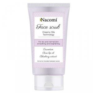 NACOMI Face Scrub peeling wygładzający do twarzy 85ml