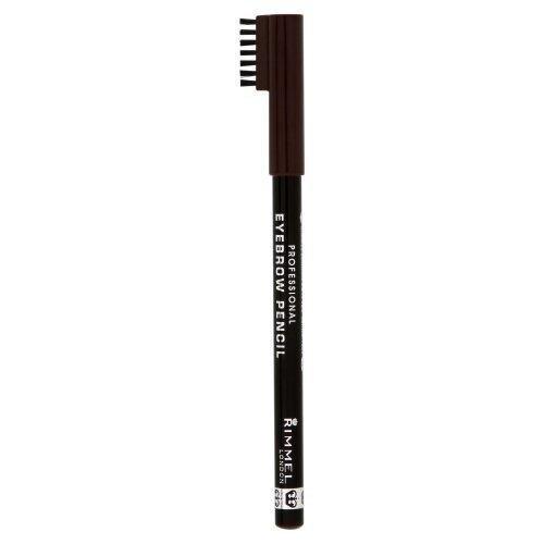RIMMEL LONDON Eyebrow Pencil kredka do brwi 1,4g (001 Dark Brown)