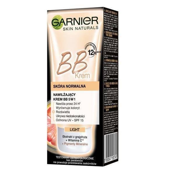 GARNIER BB Beauty Balm Perfector krem BB do twarzy upiększający 5w1 do skóry normalnej do cery jasnej 50ml