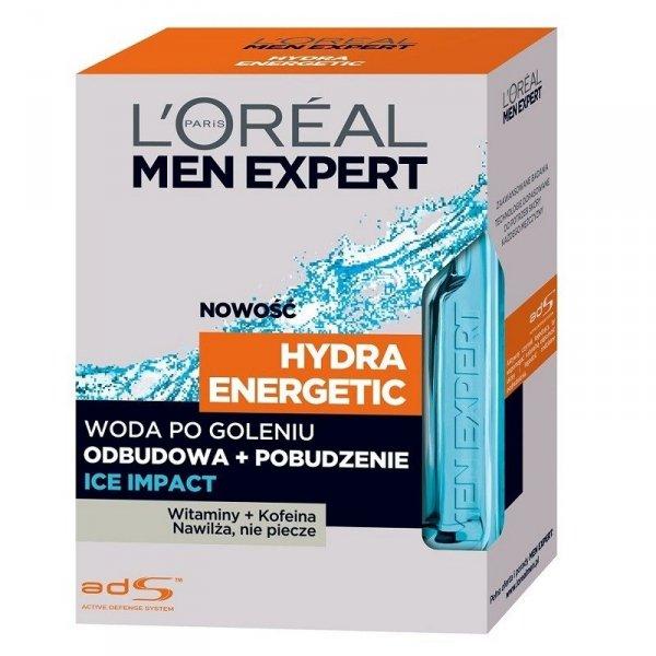 L'OREAL Men Expert Hydra Energetic Ice Impact woda po goleniu 100ml