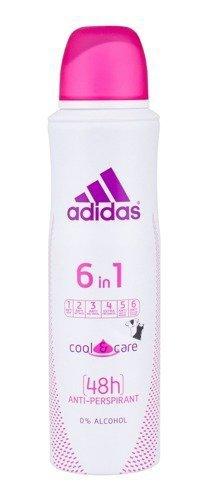 ADIDAS 6in1 Cool & Care 48h dezodorant w sprayu dla kobiet 150ml