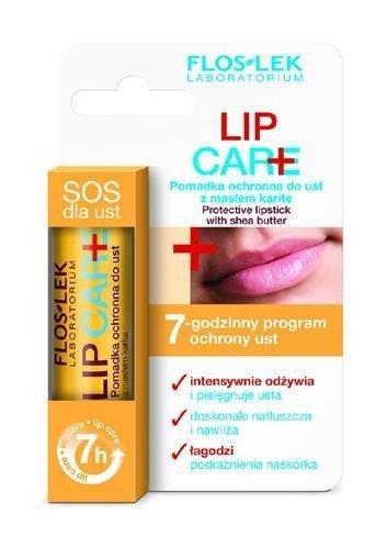 FLOSLEK Lip Care pomadka ochronna do ust z masłem karite