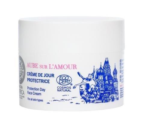 SIBERICA PROFESSIONAL Aube Sur L'Amour Protection Day Face Cream ochronny krem do twarzy na dzień Rose De Grasse & Snow Cladonia