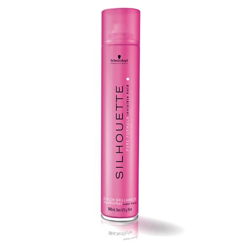 SCHWARZKOPF Silhouette Color Brilliance Hairspray Super Hold lakier do włosów dla kobiet 500ml