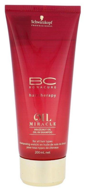 SCHWARZKOPF Brazilnut Oil BC Bonacure Oil Miracle szampon do włosów dla kobiet 200ml