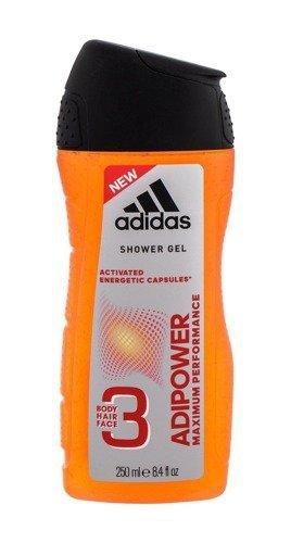 ADIDAS AdiPower żel pod prysznic dla mężczyzn 250ml
