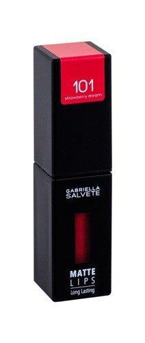 GABRIELLA SALVETE Matte Lips pomadka w płynie dla kobiet 4,5ml (101 Strawberry Dream)