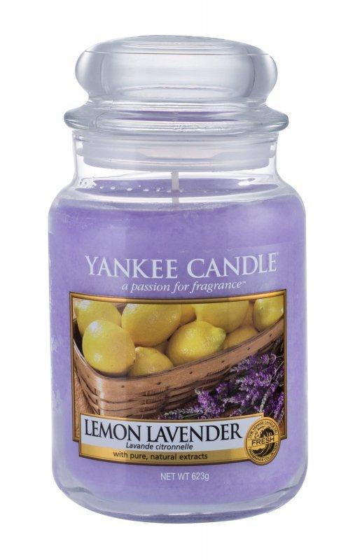 Yankee Candle Lemon Lavender (Świeczka zapachowa, U, 623g)