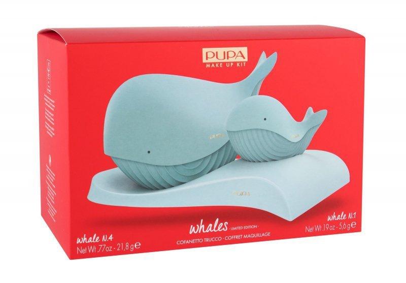 Pupa Whales (Zestaw kosmetyków, W, 21,8g)