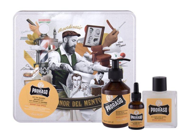 PRORASO Wood & Spice (Szampon do włosów, M, 200ml)