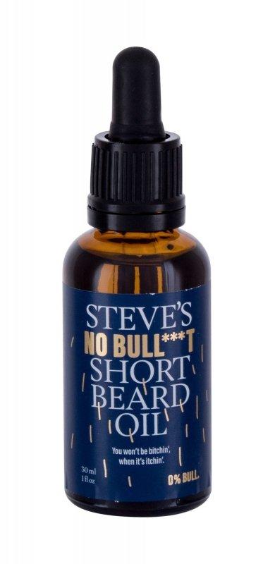 Steve´s No Bull***t Short Beard Oil (Olejek do zarostu, M, 30ml)