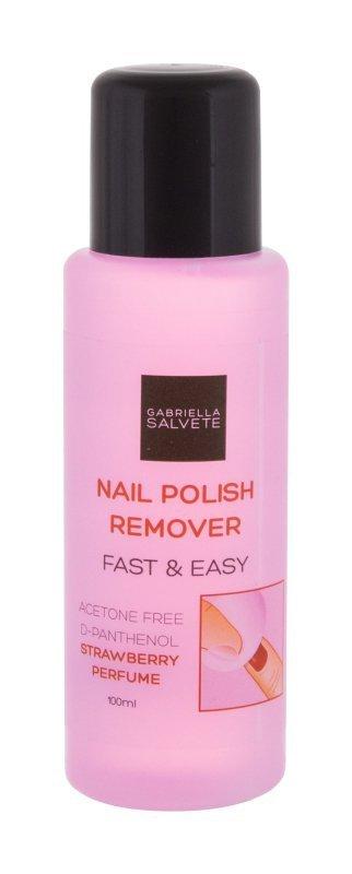 Gabriella Salvete Nail Polish Remover (Zmywacz do paznokci, W, 100ml)