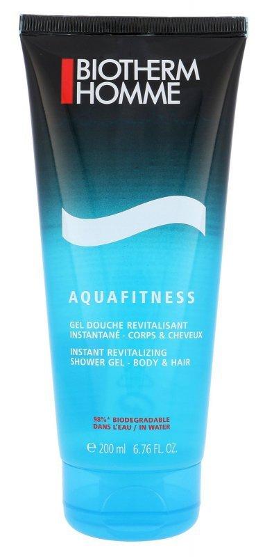 Biotherm Homme Aquafitness (Żel pod prysznic, M, 200ml)