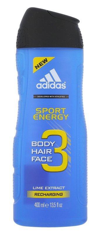 Adidas 3in1 (Żel pod prysznic, M, 400ml)