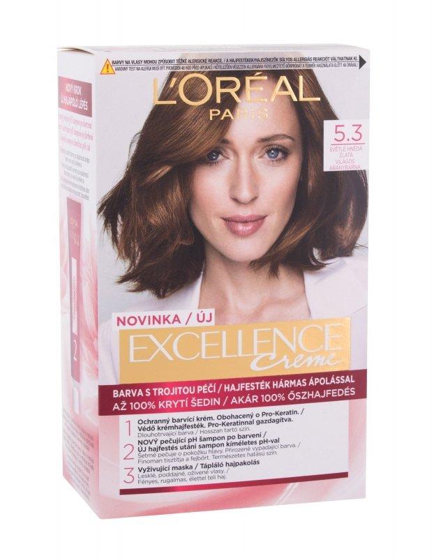 L´Oréal Paris Excellence Creme (Farba do włosów, W, 48ml)