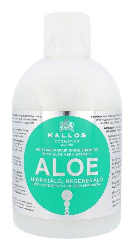Kallos Cosmetics Aloe Vera (Szampon do włosów, W, 1000ml)