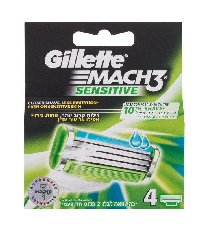 Gillette Mach3 (Wkład do maszynki, M, 4szt)