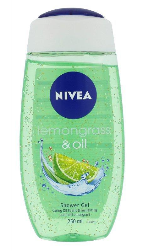 Nivea Lemongrass & Oil (Żel pod prysznic, W, 250ml)