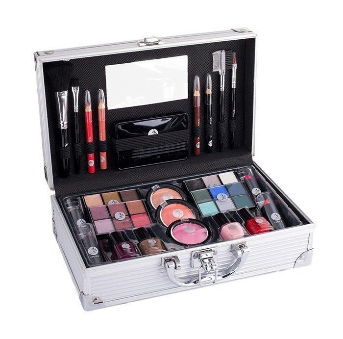 2K Fabulous Beauty Train Case (Zestaw kosmetyków, W, 66,9g)