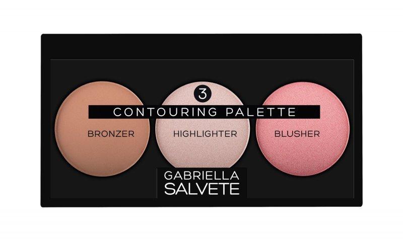 Gabriella Salvete Contouring Palette (Zestaw kosmetyków, W, 15g)